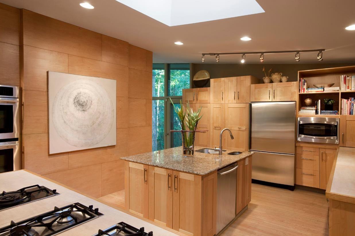 42 Best Modern Light Oak Kitchen Cabinets Design Contemporary