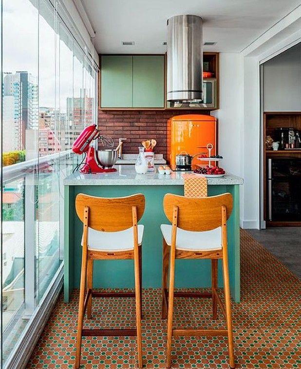 Зеленый цвет в интерьере кухни (с изображениями ...