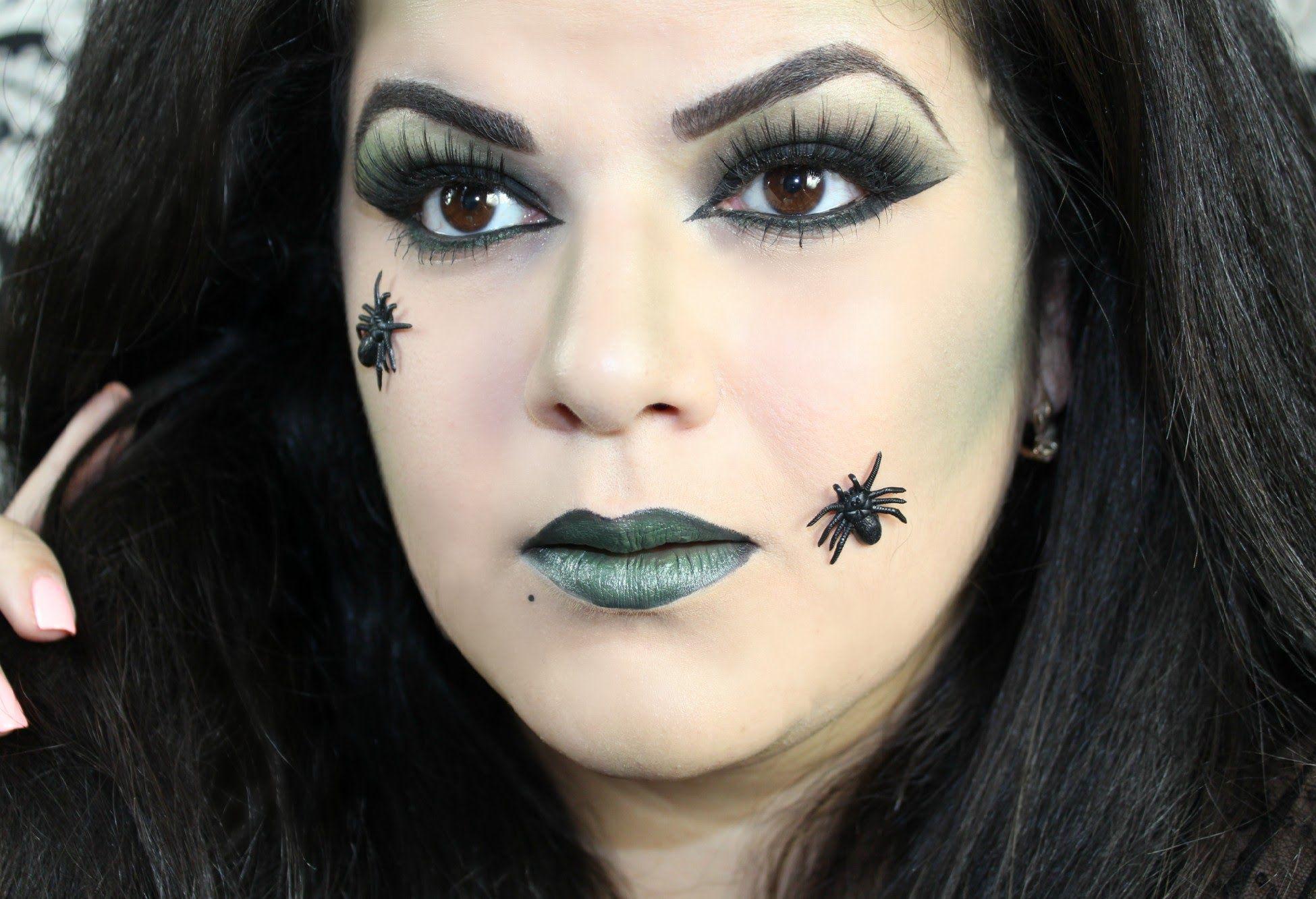 Halloween witch makeup tutorial halloween pinterest witch halloween witch makeup tutorial baditri Images