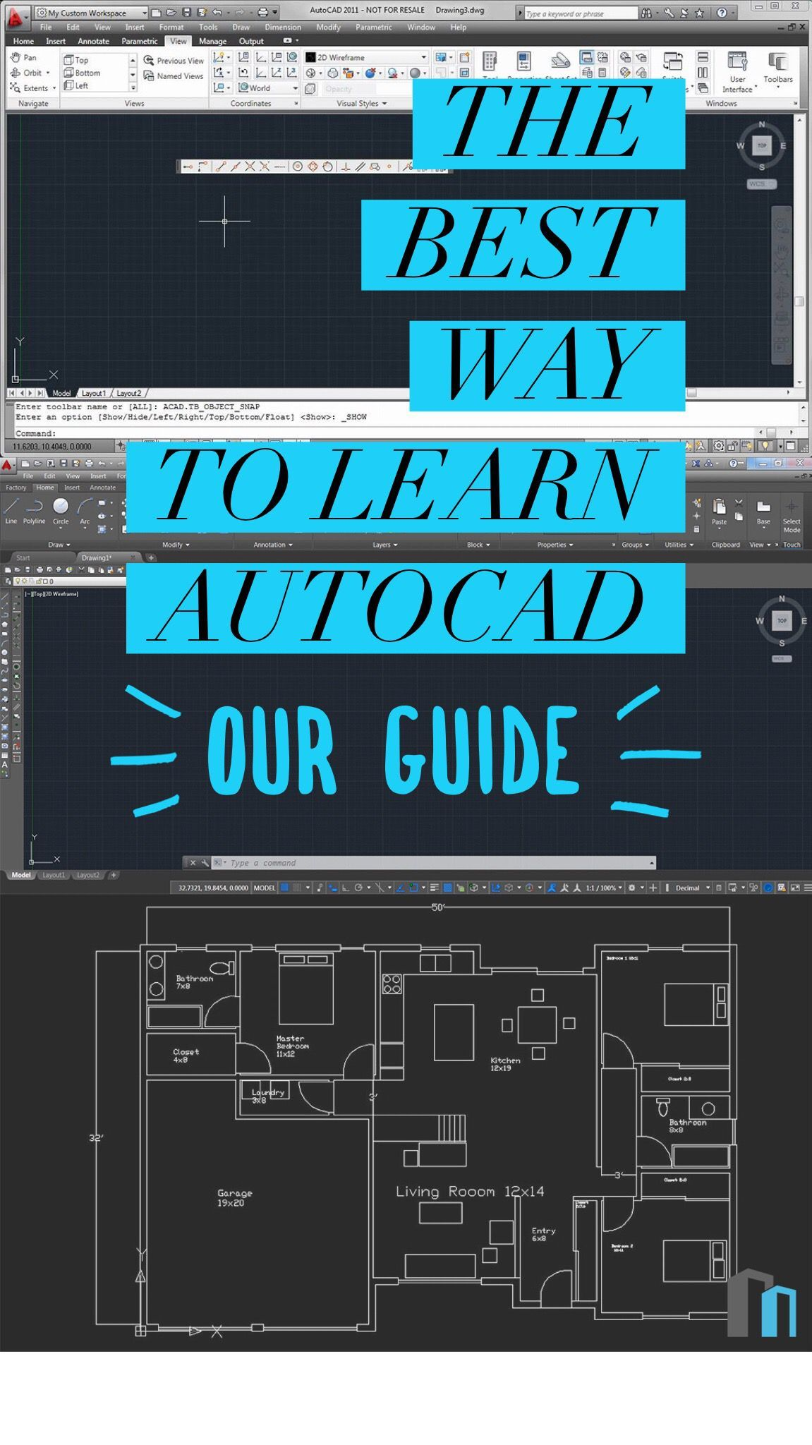Learning Autocad With Free And Premium Video Courses Learn Autocad Autocad Tutorial Autocad Drawing