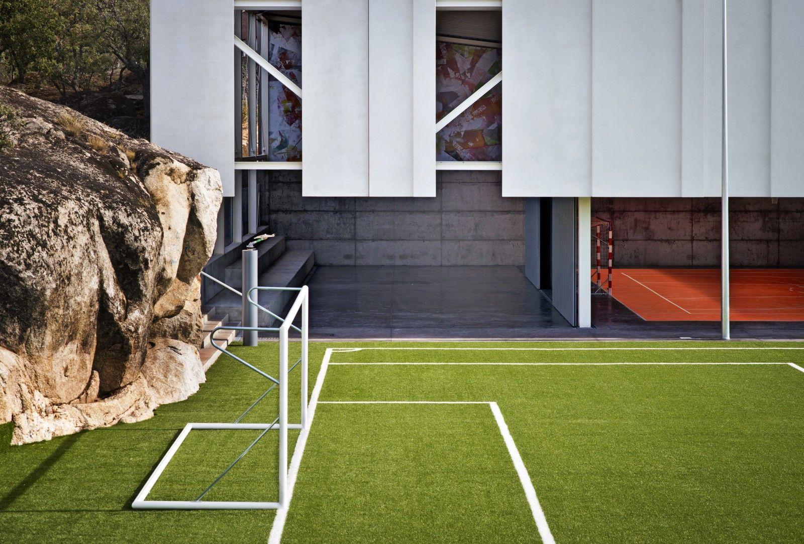 Pabell n de deportes u3 estudio de arquitectura madrid polis pabell n estudio de - Pabellon de deportes madrid ...