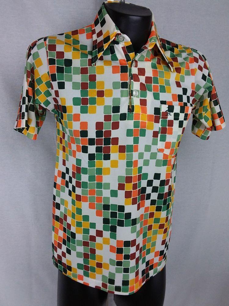 470ad859 Vintage Grand Slam Munsingwear Penguin 3 Button Golf Pullover Geometric  #GrandSlamMunsingwearPenguin #PoloRugby #Casual