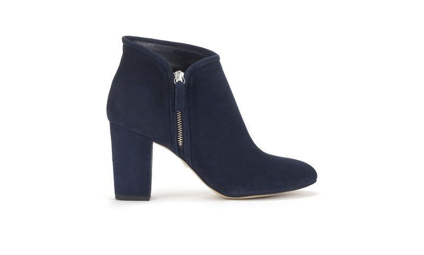 Marilyn Side Zip Block Boot