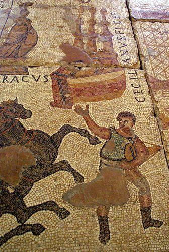 Meta I Sparsor Mosaic Del Circ Museu D Historia De La Ciutat