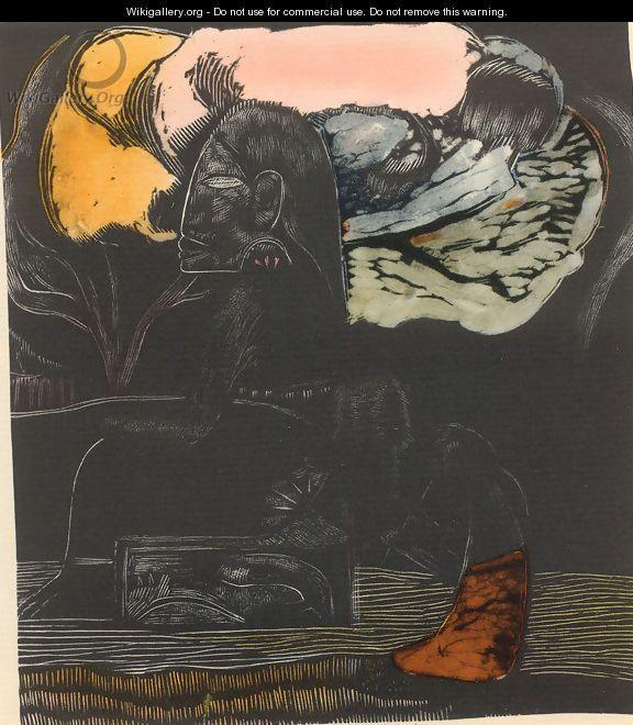 Watercolor 08 - Paul Gauguin
