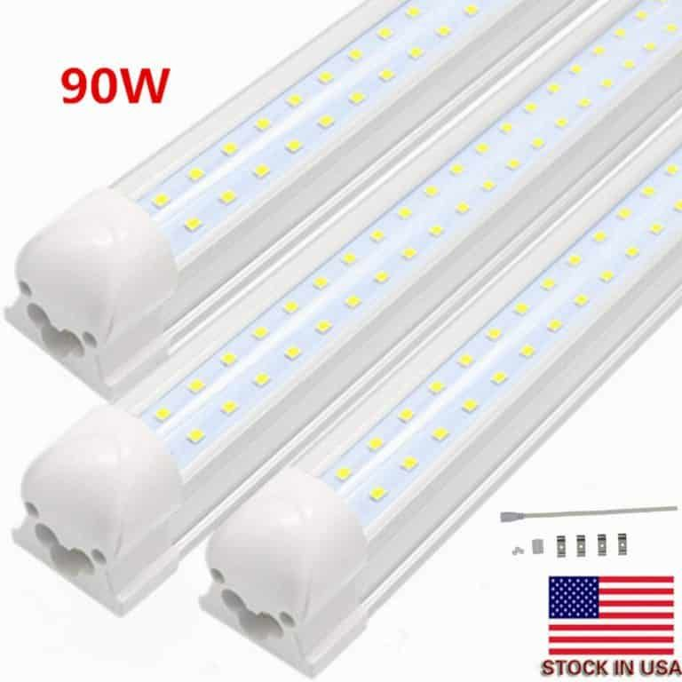 Bsk Bestka Led Tube Light Plug Play With White 6000k Cover 10pcs Led Tubes Led Tube Light Tube Light