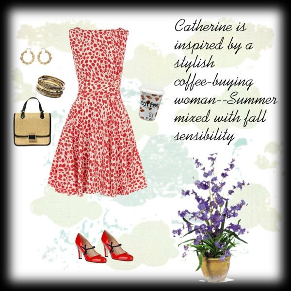 """""""Inspired by a stylish coffee-buying woman"""" by cbslifestylist on Polyvore"""