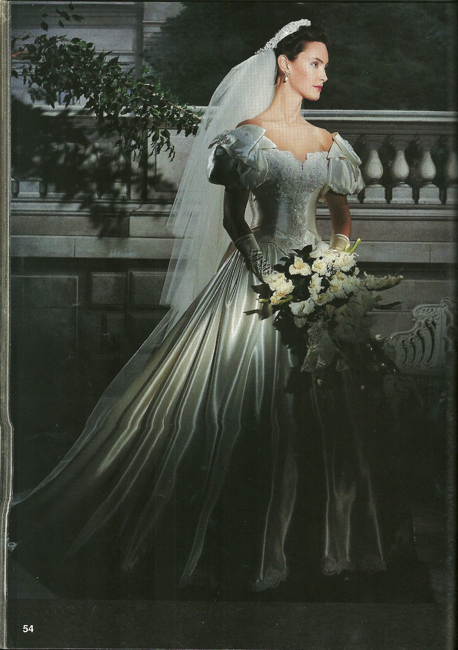 Pin On 80 S And 90 S Wedding Dresses