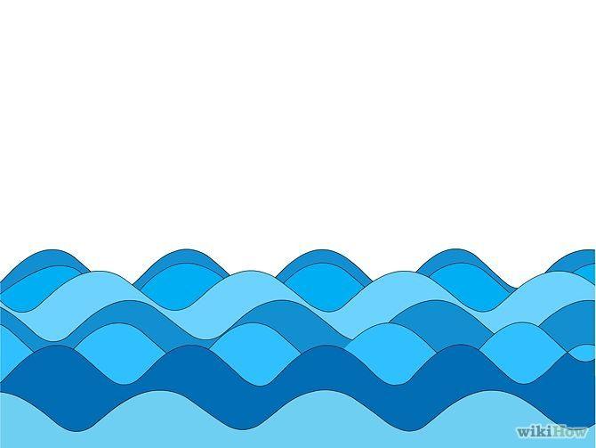 Disegni Onde Del Mare Cerca Con Google Illustrazioni Onde Del