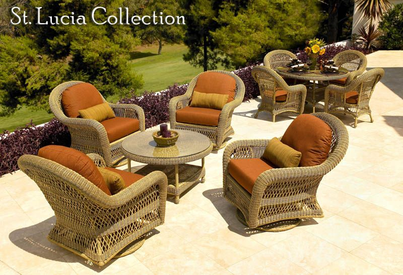 The St Lucia Collection Outdoor Wicker Furniture Furniture Outdoor Furniture Sets