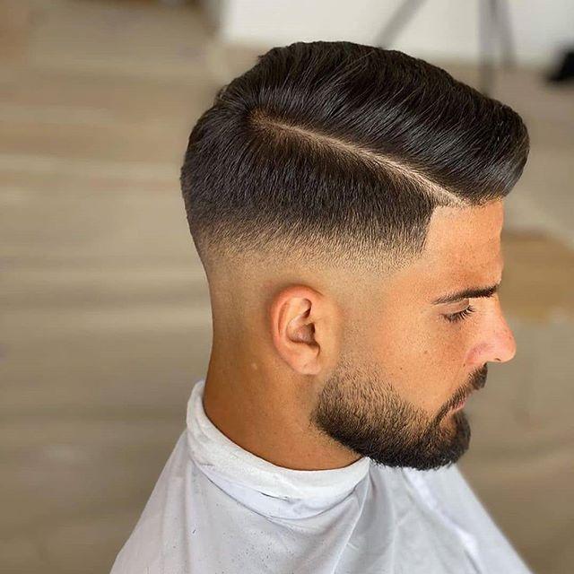 43 Moderne Männer Frisuren Dünnes Haar Hohe Stirn | Faded ...