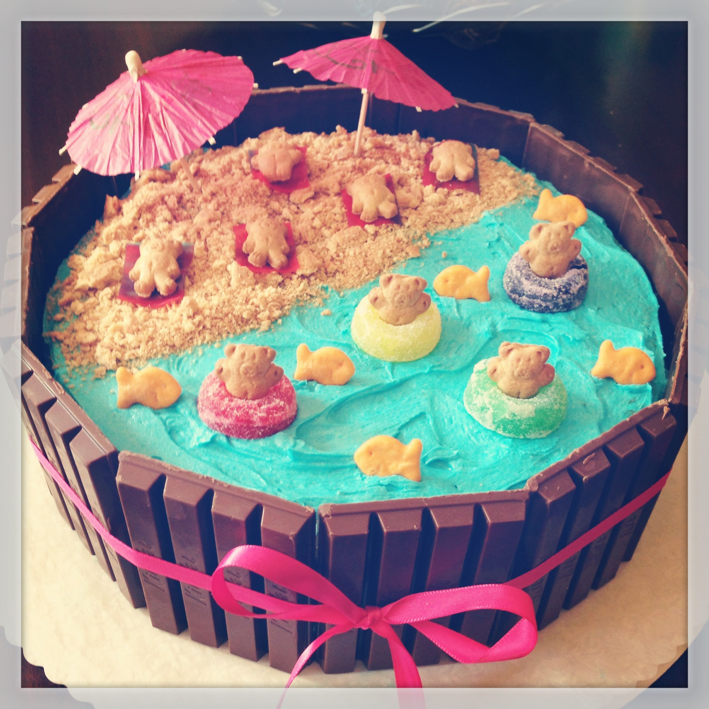 Kit kat cake torten pinterest kuchen rezepte kuchen for Pinterest kuchen