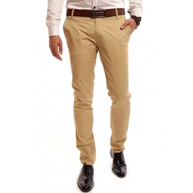 Pantaloni bej DON Tons of Colors Intr-o tinuta smart casual, college, sport sau preppy pantalonii colorati isi pot face loc cu usurinta pentru ca pot fi asortati cu piese simple sau accesorii sic. Functie de momentul zilei poti asorta pantalonii bej DON Tons of Colors cu un sacou sp... - DON-MEN - Haine Online Pentru Barbati, Strada Washington, Nr. 15, Bucuresti, 011795, Telefon: 031 420 7081