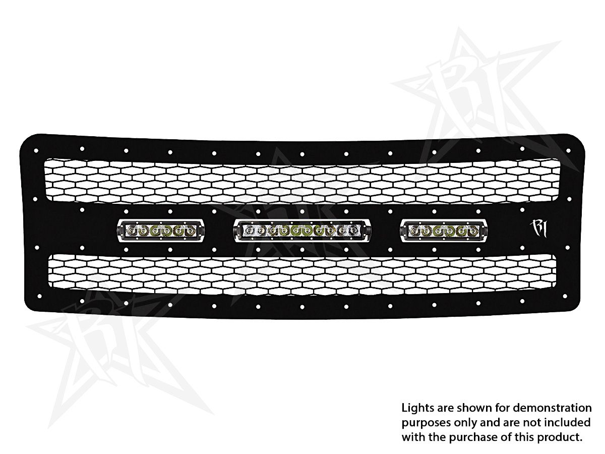 Rigid Industires 2010-2012 Ford F-150 LED Grille. CLICK FOR MORE ...