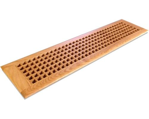 Egg Crate Self Rimming Red Oak Floor Grate Vents Home Improvement
