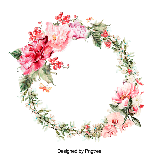Beautiful Hand Paint Watercolor Floral Wreath Flower Flowers Beautiful Flower Png Transparent Clipart Image And Psd File For Free Download Floral Wreath Watercolor Floral Wreath Drawing Watercolor Flower Wreath