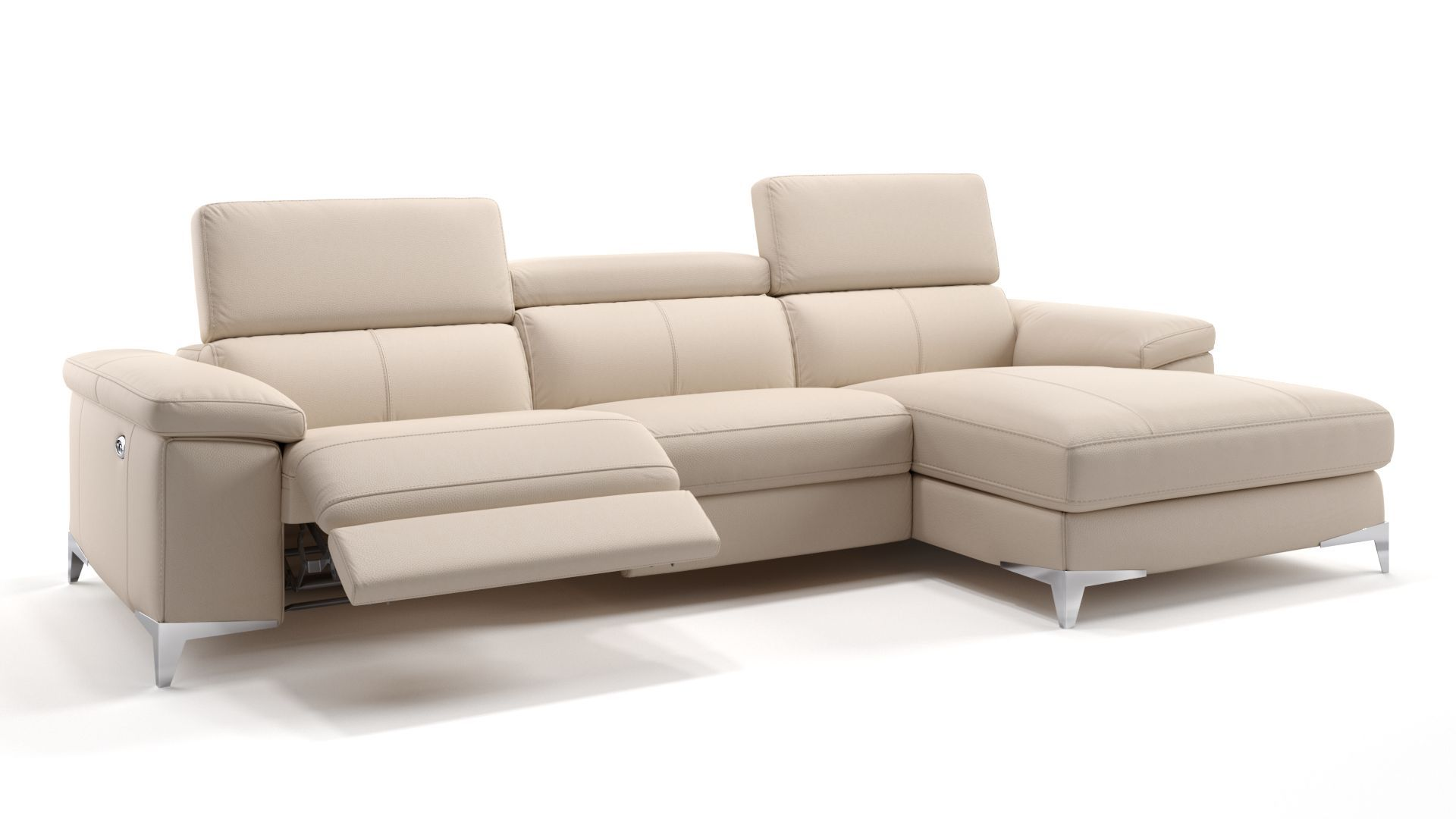 Venosa Leder Eckcouch In 2020 Comfy Chairs Sectional Couch Sofa