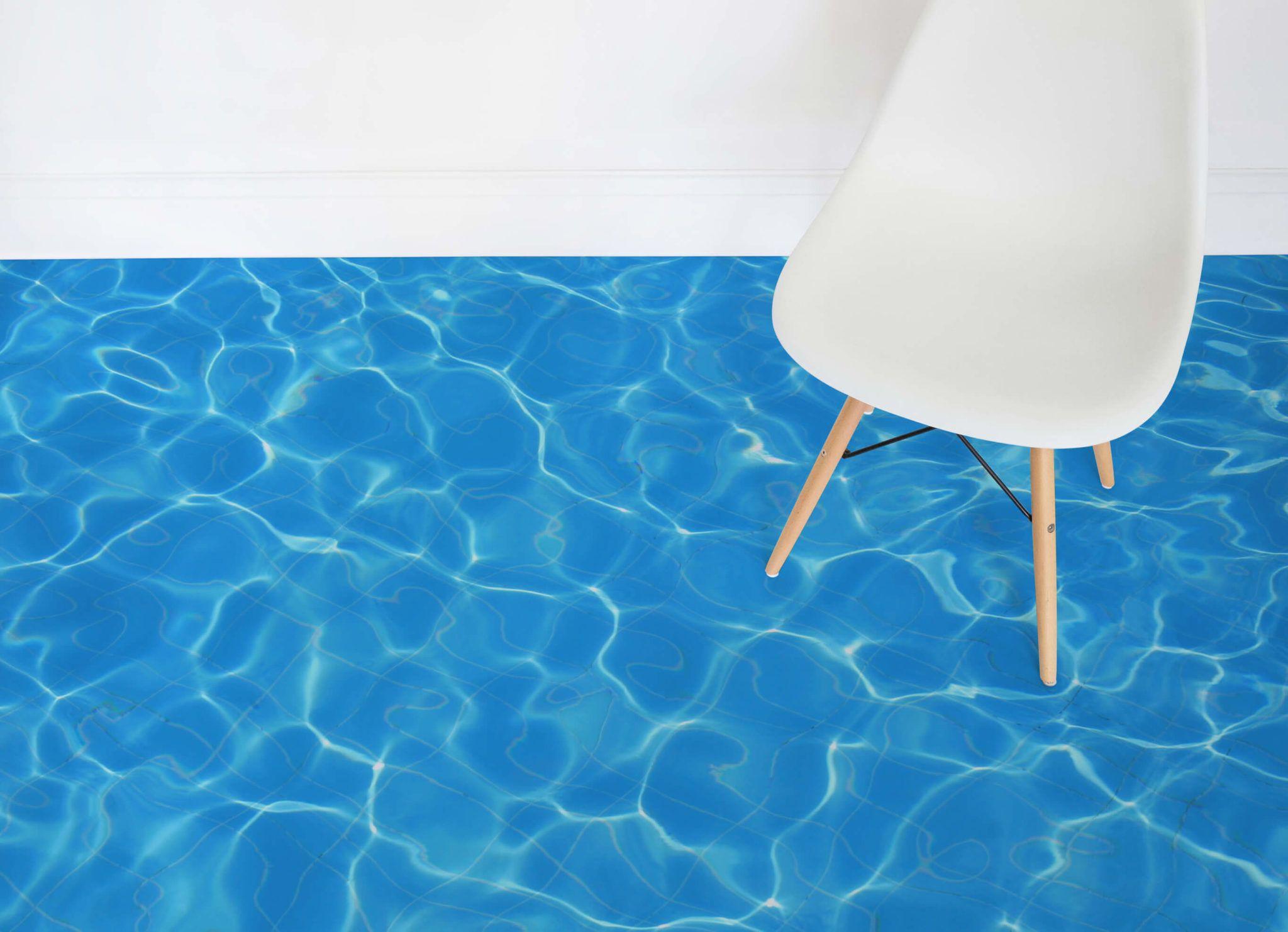 Water Effect Vinyl Flooring   Pinterest   Floor design, Blue rooms ...