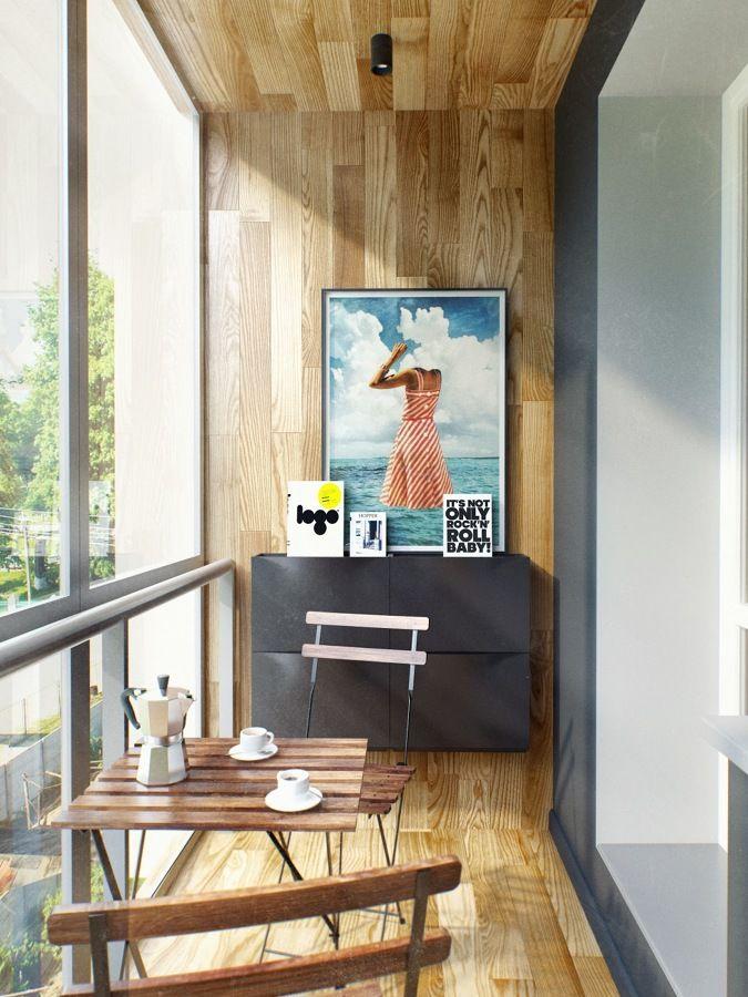 Terraza Cerrada Muebles Para Balcon Balcon Decoracion Y