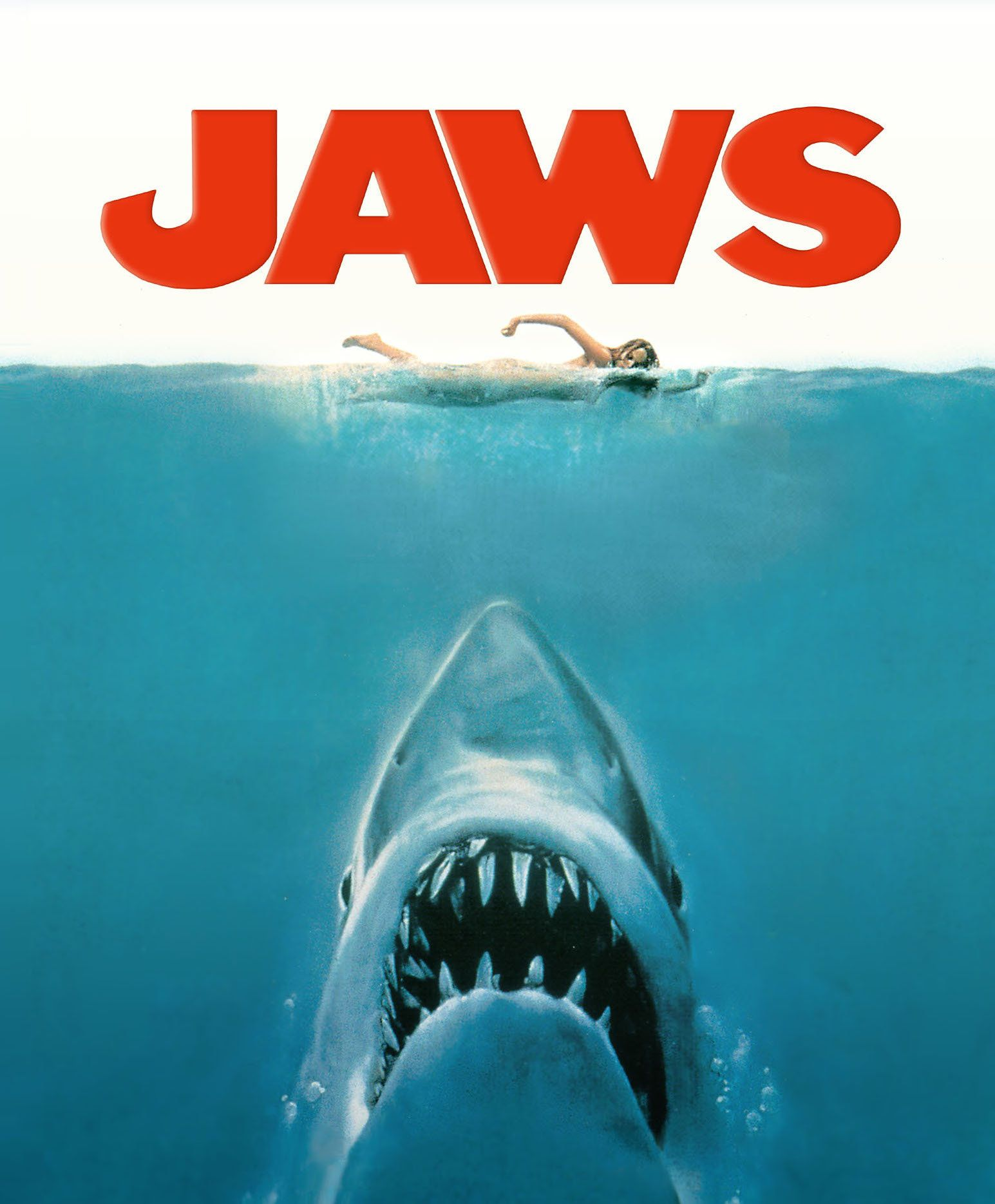 3bf63e27cd58 Jaws (or, The Shark) | When I Was A Kid | Best movie posters, Jaws ...