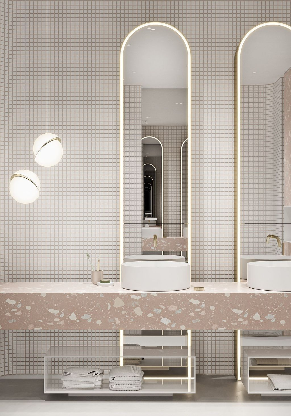 20 Surpirising Apartment Bathroom Renovation Design Ideas To Try Asap In 2020 Badezimmer Innenausstattung Wc Design Bad Inspiration