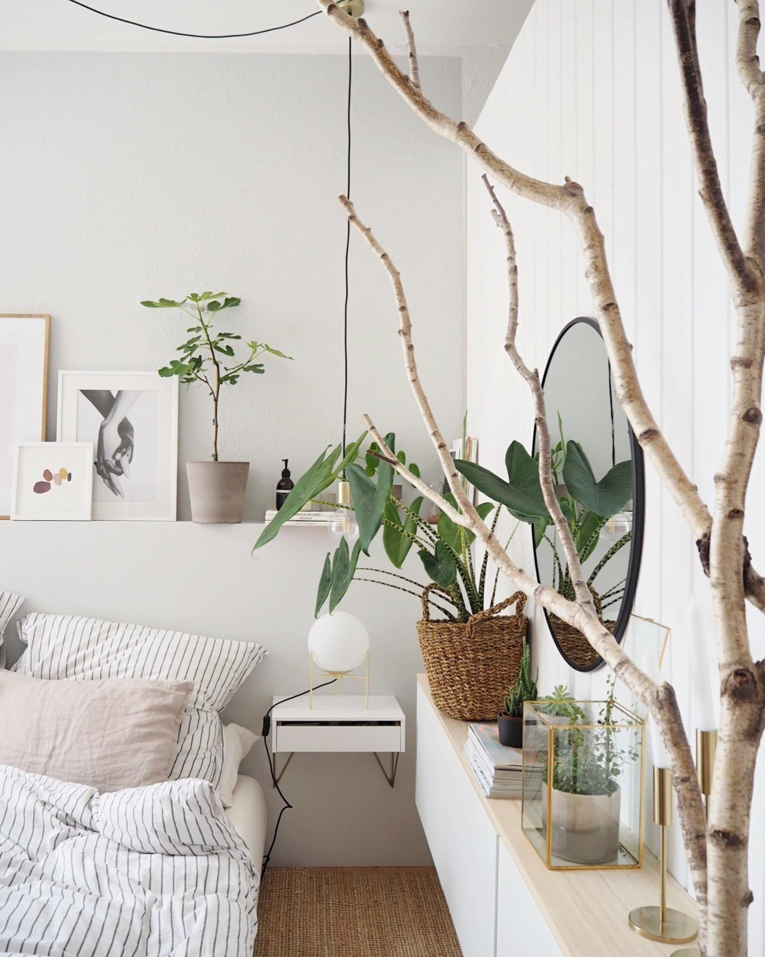 Schlafzimmer Deko Natur