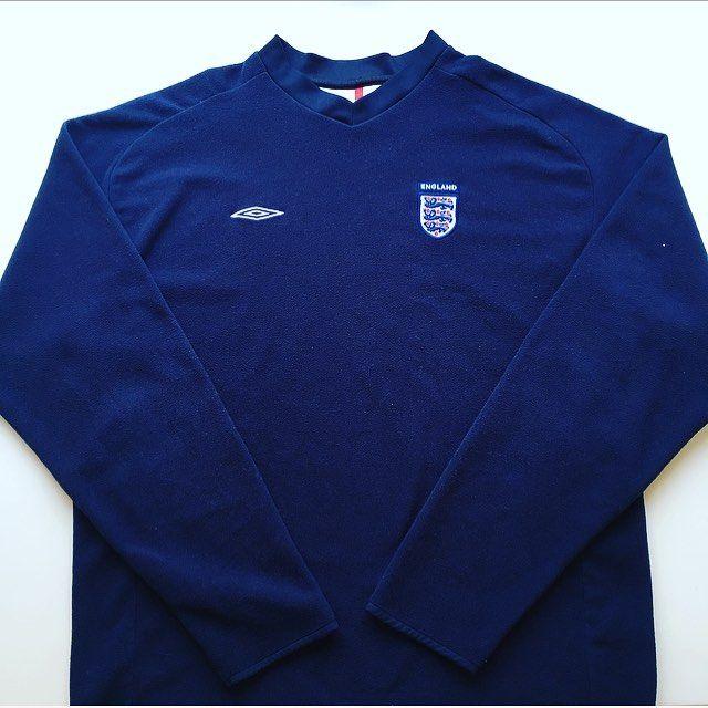 199162a07 Just in - vintage Umbro England fleece 2000/02 🔵⚪ #england ...