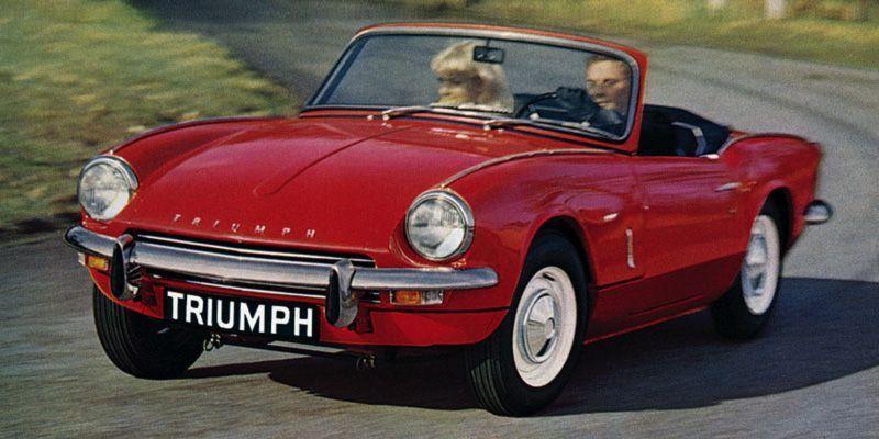 Triumph Spitfire #classiccars