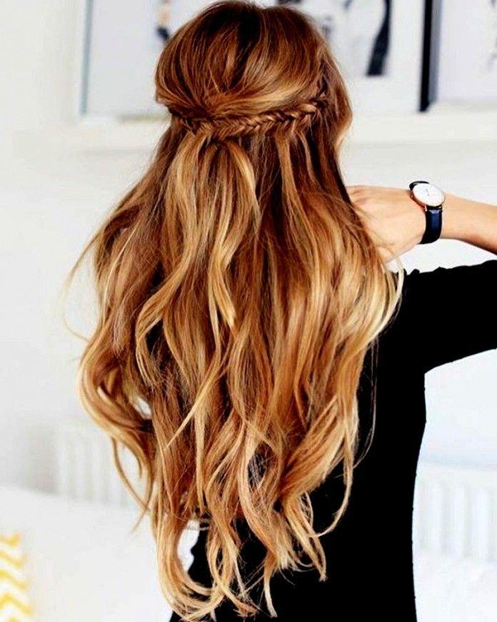 Últimos peinados para mujeres de cabello largo ideas modernas de peinado y tendencias de color de cabello
