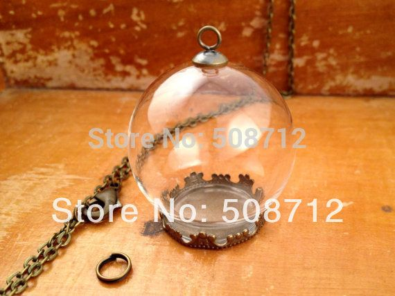 20sets clear glass globe necklace kit bottle pendant diy antique cheap jewelry supplies pendants buy quality jewelry cuff links directly from china supply valve suppliers clear glass globe necklace kit bottle pendant aloadofball Gallery