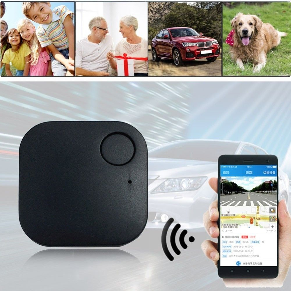 Mini GPS Locator for Kids Old Pets Vehicle GSM Real-Time Tracker Finder AntiLost