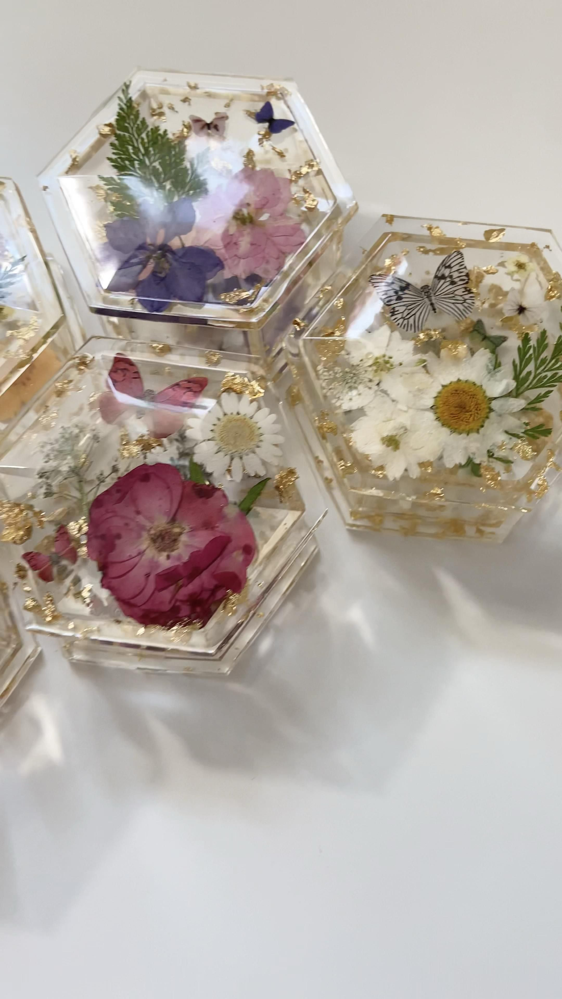 Jewelry boxes | Holiday Gifts | Real Flowers