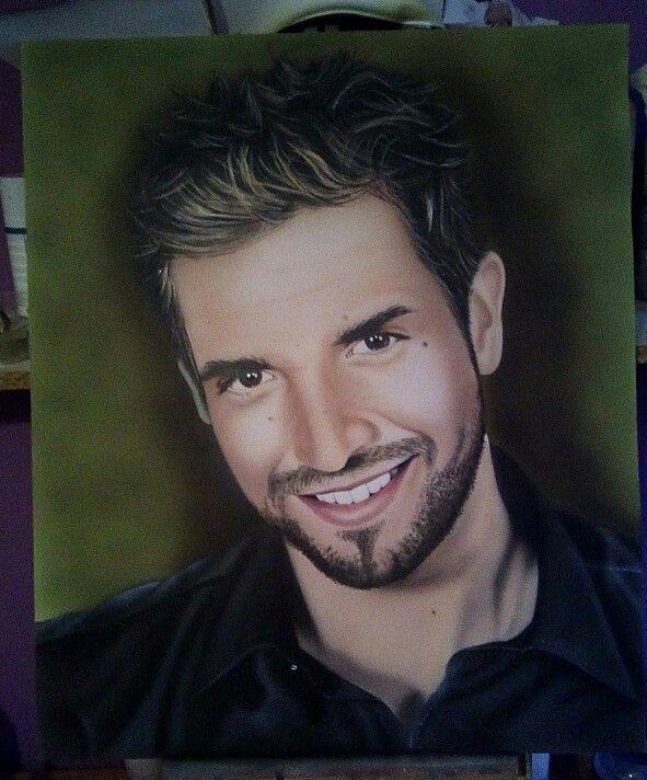 Retrato Pablo Alboran. www.pinturaspalomares.com