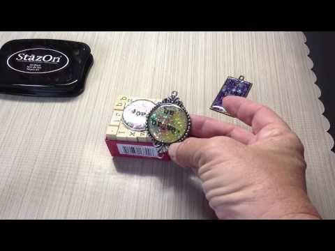 Estampación en resina - YouTube