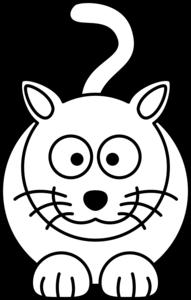 lemmling cartoon cat black white line art coloring book colouring rh pinterest com