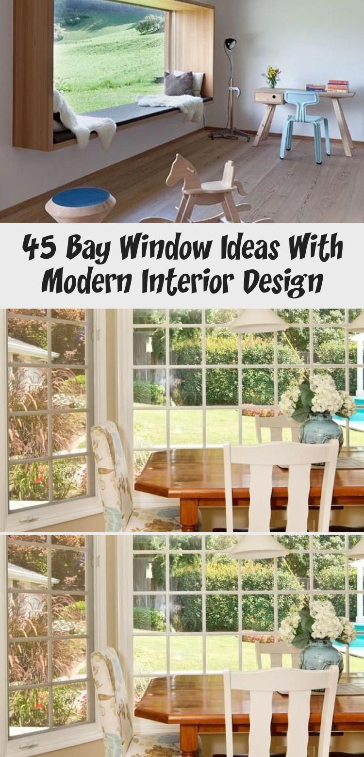 12 Bay Window Ideas that Blend Well with Modern Interior Design ...