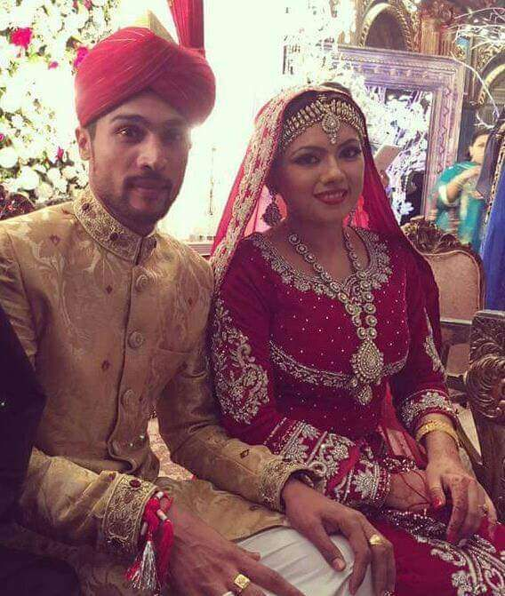 Cricketer Mohammad Amir Wedding Pics Collection