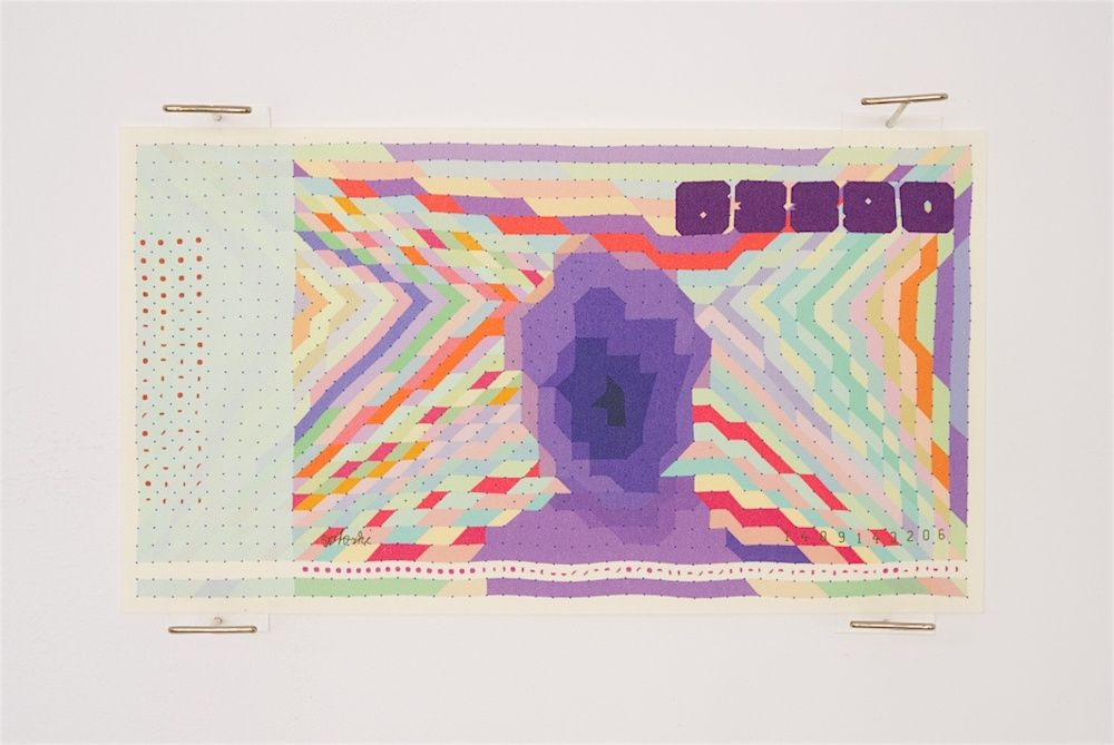 Eye-catching designs from artist Matthias Dörfelt translate the digital currency into physical form