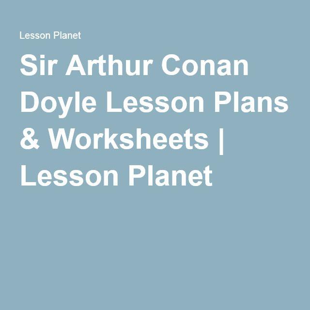 sir arthur conan doyle education
