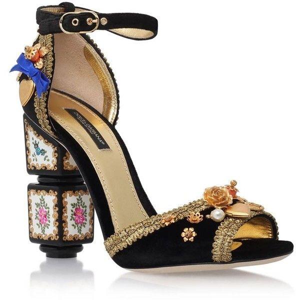 Suede KEIRA Sandals Spring/summer Dolce & Gabbana ACbMcNyJqs