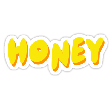 Honey Sticker By Divinefemme In 2021 Honey Sticker Tumblr Stickers Hydroflask Stickers