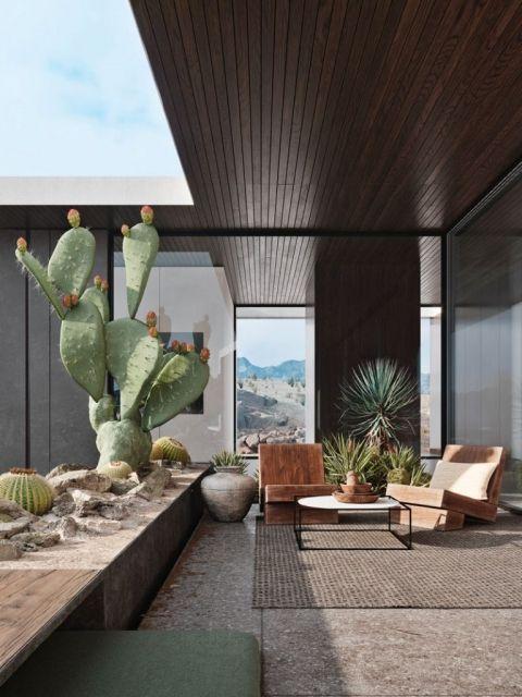 how-to-decorate-with-dark-wood-desert-chic-home-interior-losangeles-2b8b3081448429.5cffec55c6240