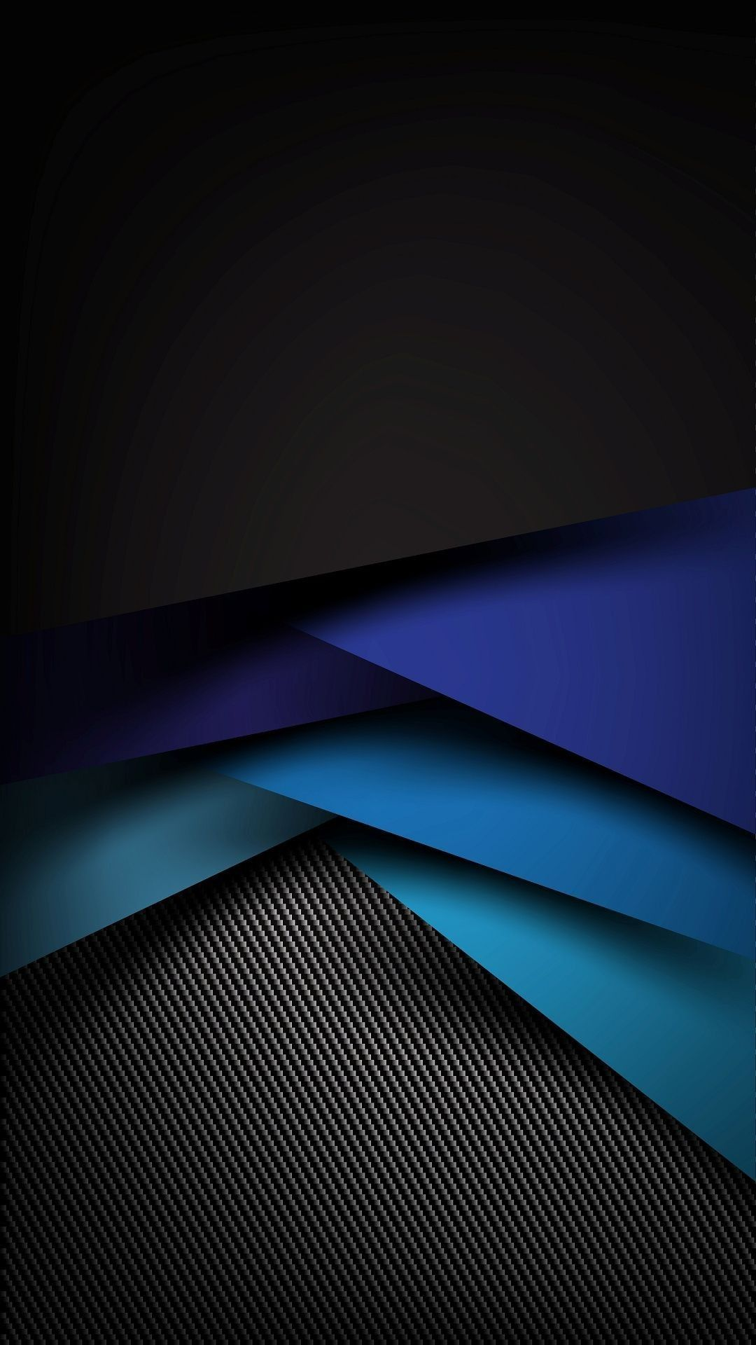 Black and Blue Geometric Abstract Wallpaper Geometric
