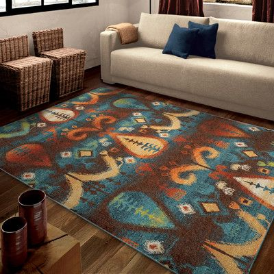"""World Menagerie Ansonville Area Rug Rug Size: 7'10"""" x 10'10"""""""