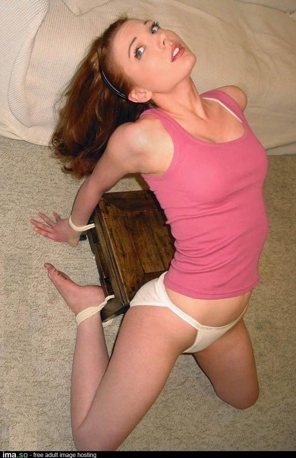 redhead bondage porn All hot adult  Redhead In Bondage And Tit Torture.