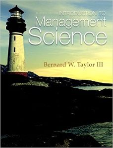 Intant download and all chapters test bank introduction to intant download and all chapters test bank introduction to management science 11th edition bernard w taylor iii view free sample test bank introduction to fandeluxe Gallery