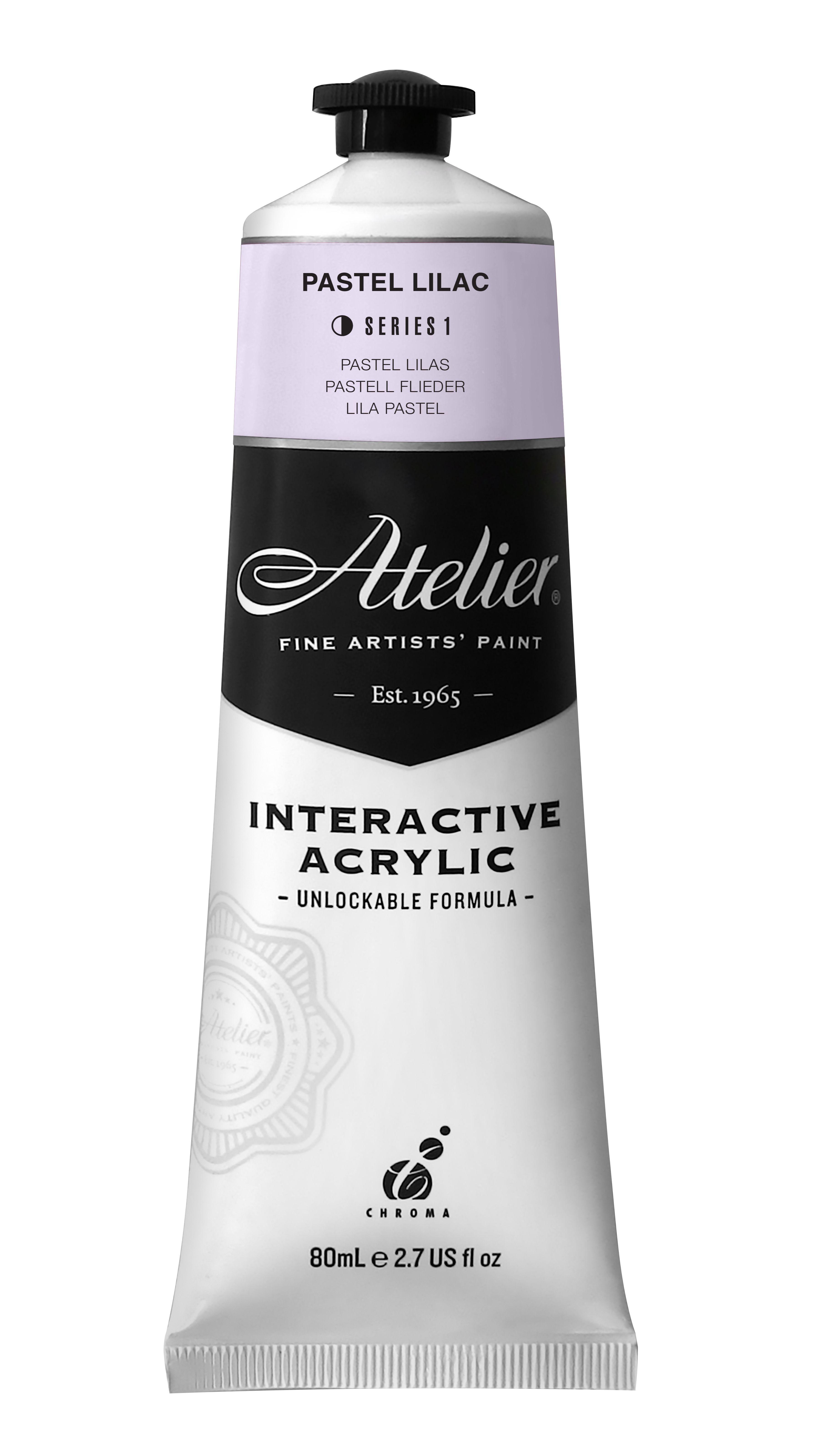 New 80ml Atelier Pastel Lilac Atelierinteractive Atelieracrylics Atelierpastels Shampoo Bottle Atelier Interactive