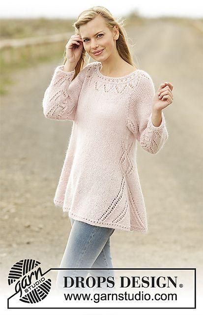 178-4 Pastel Elegance pattern by DROPS design | Knitting