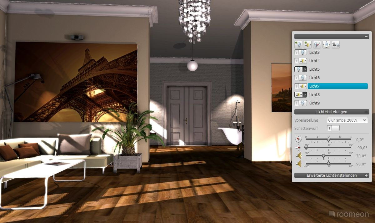 Living Room Design Software Roomeon  Design & Visualization Software  Digital Tools For