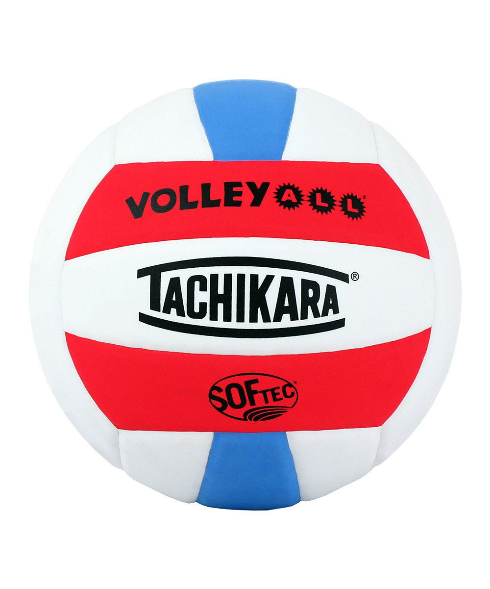 Take A Look At This Blue Red Softec Volleyball On Zulily Today Indoor Volleyball Volleyball All Volleyball
